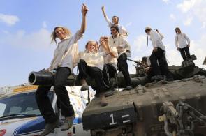 Celebración en Gaza tras cese al fuego