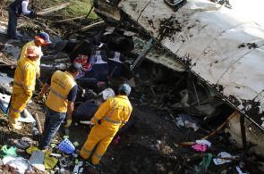 Imágenes: así quedó el bus que venía hacia Cali tras accidente en Bogotá