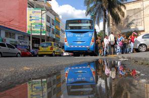 Imágenes: 75% de las vías del MÍO serán reparadas en el 2013