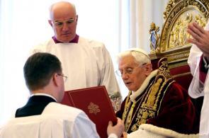 Momentos de Benedicto XVI durante su pontificado