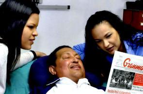 Las primeras fotos tras recuperación de Chávez