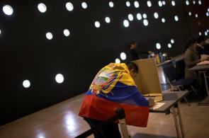 Galería: así transcurrieron las elecciones presidenciales en Ecuador