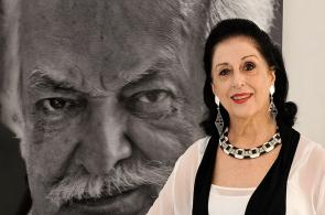 Imágenes: Águeda Pizarro, la esposa de artista Ómar Rayo