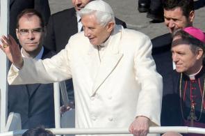 Imágenes de la última aparición en público del Papa Benedicto XVI