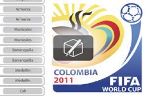 Calendario Mundial Sub 20 Colombia 2011