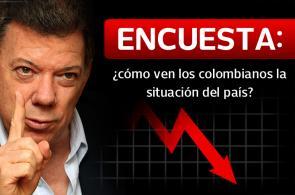 Encuesta: ¿cómo ven los colombianos la situación del país?