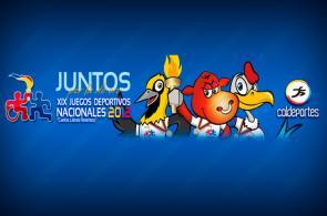 Tabla de medallería de los Juegos Nacionales 2012, por delegaciones