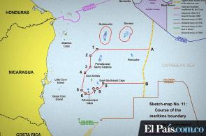 Nueva frontera marítima entre Colombia y Nicaragua, según fallo de la CIJ