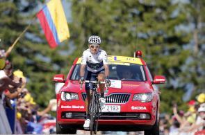 Nairo Quintana realiza una histórica actuación en el Tour de Francia