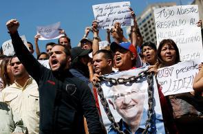 En fotos: oposición venezolana marcha por la libertad del alcalde de Caracas