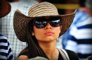 Imágenes: la belleza y la sensualidad se pasearon por la 55 Feria de Cali - elpais.com.co
