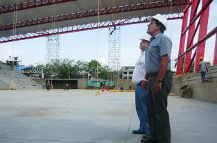 Imágenes: así avanzan las obras en los centros deportivos de los Juegos... - elpais.com.co