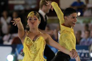 Juegos Mundiales: Adriana y Jéfferson bailan salsa con el corazón - elpais.com.co