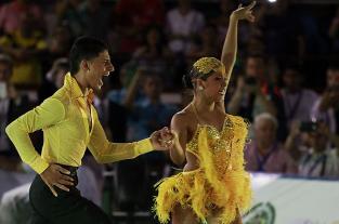 Juegos Mundiales: un día en la vida de Adriana y Jéfferson, los campeones... - elpais.com.co