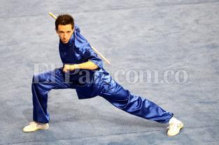 El Wushu colombiano se exhibió en los Juegos Mundiales Cali 2013 - elpais.com.co