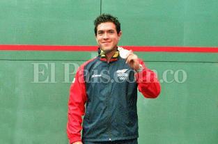 El colombiano Miguel Ángel Rodríguez obtuvo medalla de bronce en Squash de... - elpais.com.co