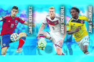 Los jugadores que más se cotizaron en Brasil 2014