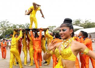 Bailarines afinan los pasos para el Salsódromo - elpais.com.co
