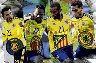 Jugadores de la selección Colombia agitan la bolsa en Europa