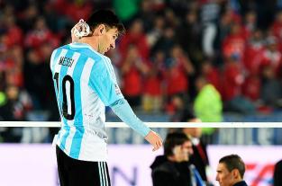 Imágenes: Así vivieron la derrota los jugadores de la selección Argentina