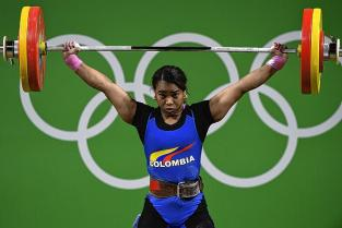 """""""Espero la noticia oficial de la medalla de Beijing 2008"""": Leidy Solís"""
