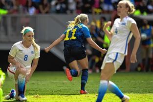 Suecia le quita a Estados Unidos el sueño de un cuarto oro seguido en Río 2016