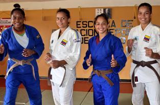 En Jamundí se forjan las otras 'Yuris' del judo colombiano