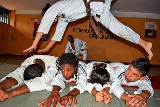En Jamundí está la escuela de judo más exitosa del país