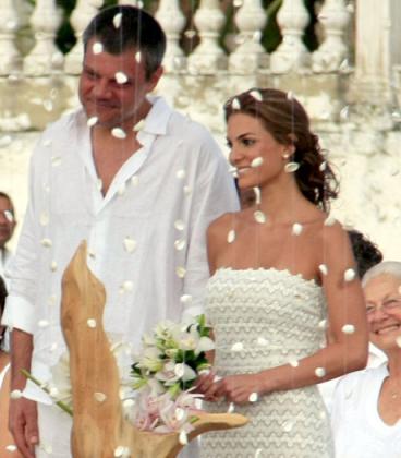 Tatiana de los Ríos se casó con el caleño Karim Gorayeb