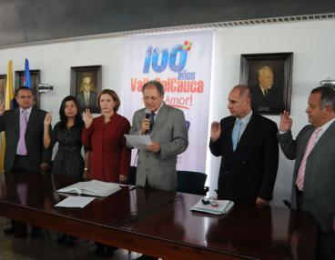 Gobernador del Valle designó los primeros integrantes de su equipo