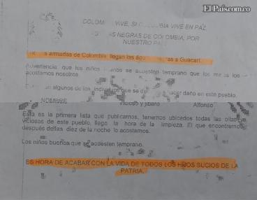 'Lista negra' en Guacarí deja tres muertos en 24 horas