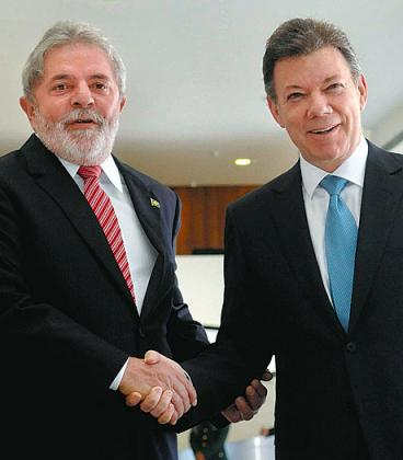El viaje de Juan Manuel Santos a Brasil sirvió para 'vender' al país