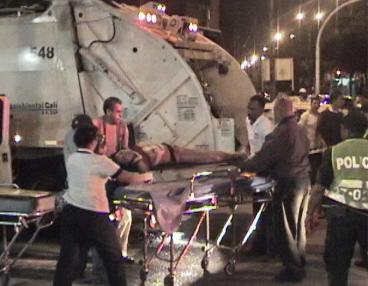 Accidente de tránsito deja joven de 27 años gravemente herida