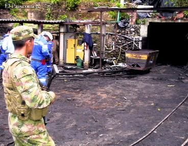 Preocupa seguridad en las minas de Colombia