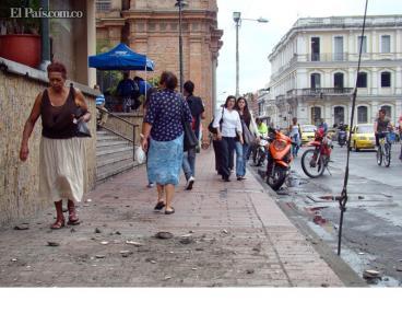 Accidentes en Alcaldía de Palmira por falta de mantenimiento