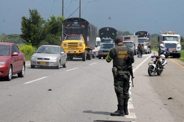 Un muerto durante hurto de las Farc a un carro transportador de valores
