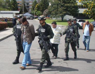 Capturan a tres extraditables, jefes del narcotráfico en Suramérica