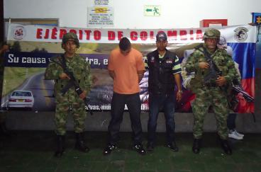 Capturan miembro de banda de sicarios de Palmira