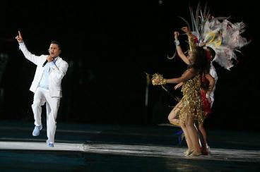 El día que nevó y ardieron fuegos en el Caribe, Colombia inauguró su Mundial