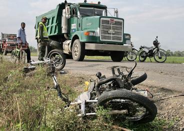 Muere motociclista en accidente de tránsito en la vía Cali - Puerto Tejada