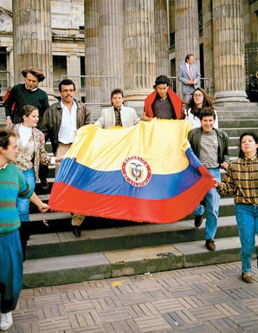 La papeleta que cambió a Colombia