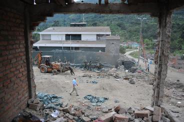 Una persona herida y daños en quince viviendas dejó hostigamiento a Toribío