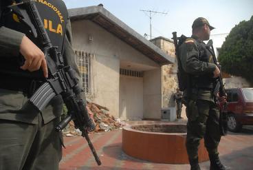Dos extorsionistas fueron capturados por el Gaula de la Policía en Palmira