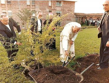 Conmemoran la visita del papa Juan Pablo II a Colombia