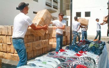 En Cali, 17 bandas delincuenciales manejan el contrabando de mercancías