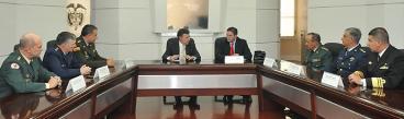 Nueva cúpula de las Fuerzas Militares va a ser un equipo de lujo: Santos