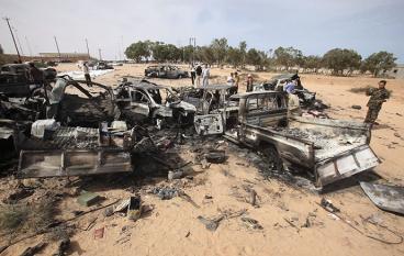 Piden a la OTAN que continúe en Libia hasta final de año