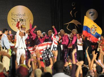 El VI Festival Mundial de Salsa eligió a sus ganadores en Cali