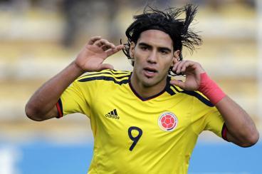 Con gol agónico de Falcao García, la selección Colombia derrotó a Bolivia en La Paz