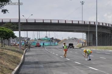 Vea las imágenes del puente de la Calle 70, tras su apertura al paso vehicular este lunes